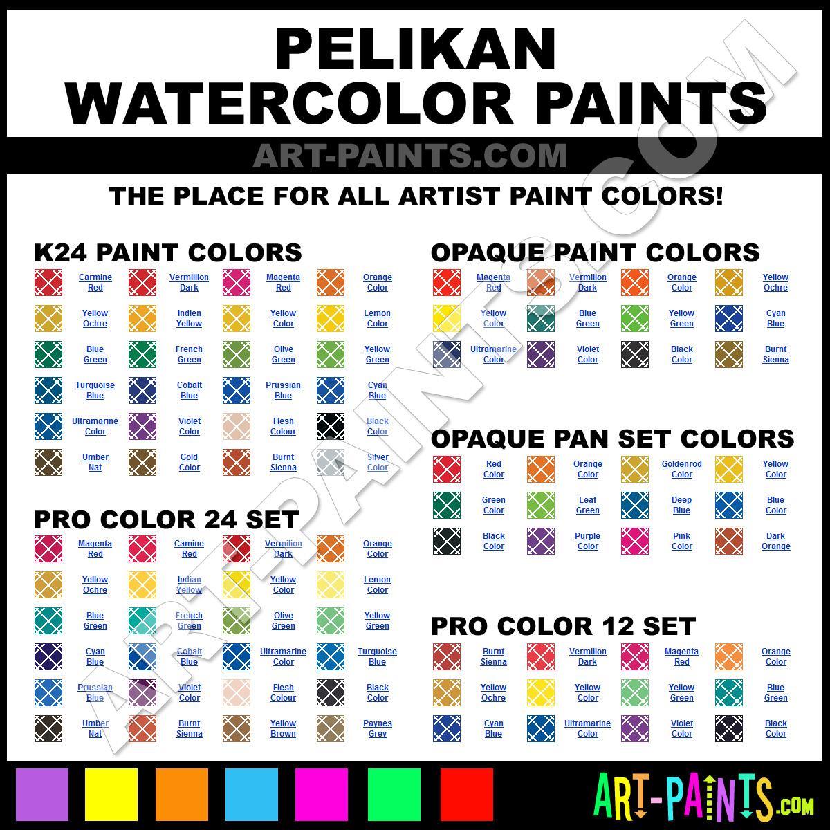 Leaf Green Opaque Pan Set Watercolor Paints Mac Pe720854