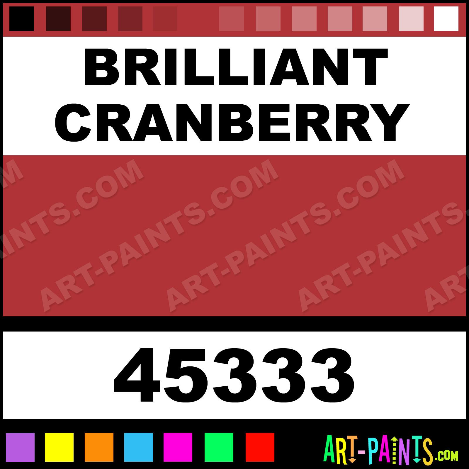 Brilliant Cranberry Artist Watercolor Paints 45333