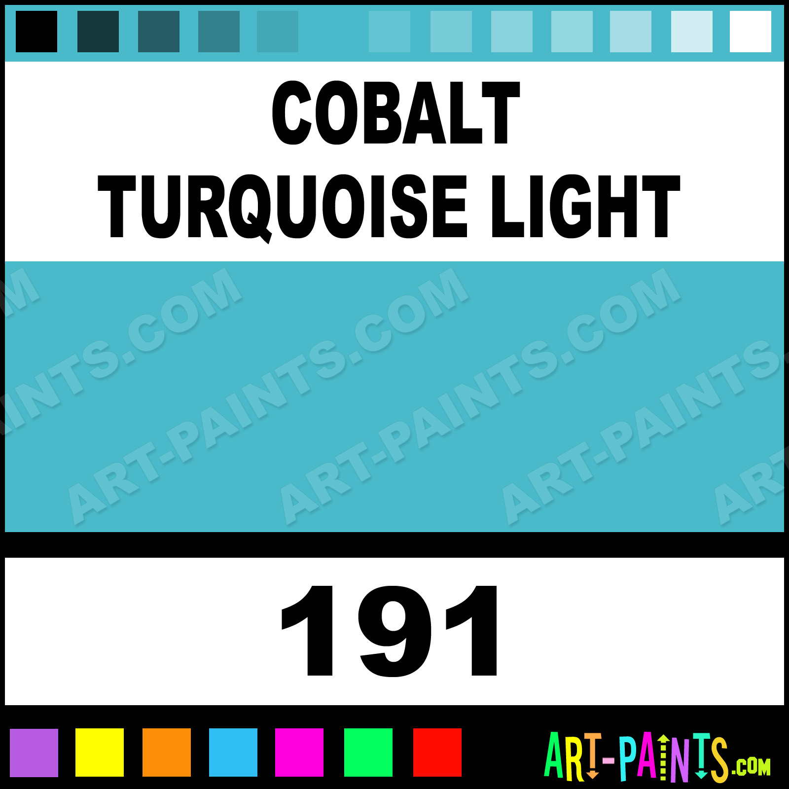 Cobalt Turquoise Light Artists Watercolor Paints 191 Cobalt Turquoise Light Paint Cobalt Turquoise Light Color Winsor And Newton Artists Paint 49baca Art Paints Com