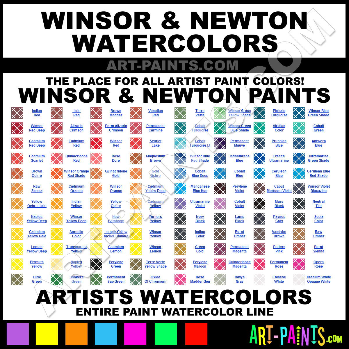 Winsor and newton artists watercolor paint colors winsor and winsor and newton geenschuldenfo Choice Image