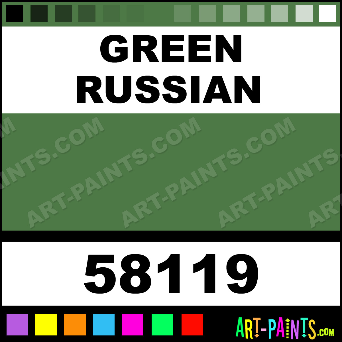 Green The Russian 32
