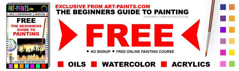 Free Online Beginners Art Paint Course!